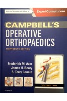 Campbell's Operative Orthopaedics 4-Volume Set 13th Edition. Volume 2. Frederick M Azar S. Terry Canale James H. Beaty. Elsevier